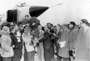 Po pierwszym locie Avro Arrow