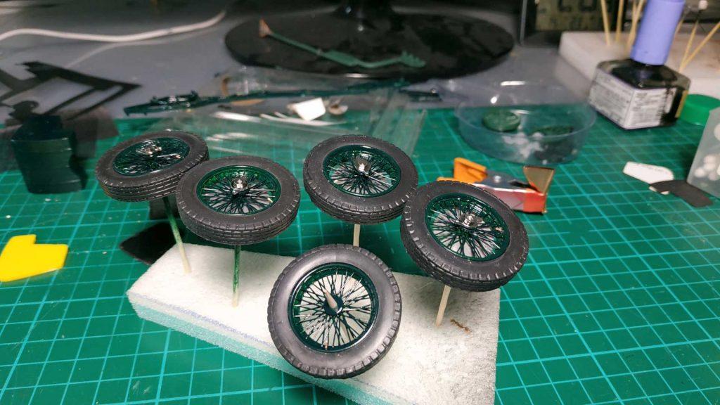 Bentley 1/24 wheels